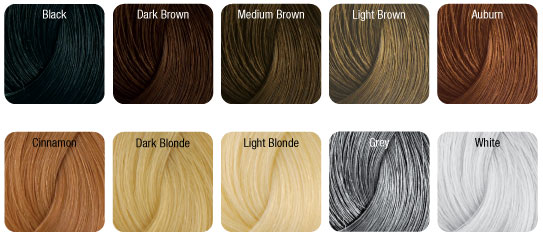 NANOGEN Hair Fibre Colors