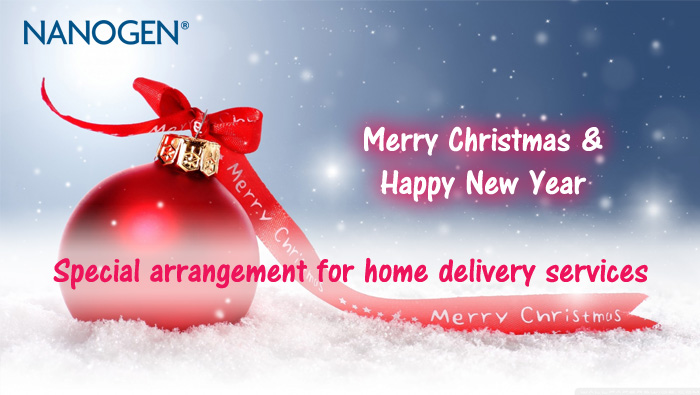 Merry Christmas from NANOGEN
